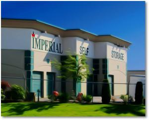 Imperial Self Storage in Port Coquitlam - Main storage building with easy access to major highways