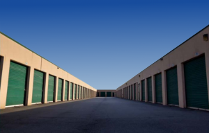 Roll-Up Doors in a Self Storage Facility