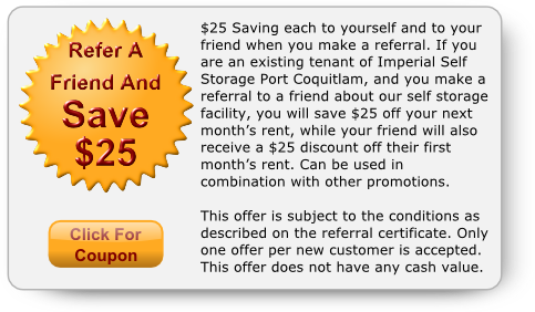 Refer a Friend 25 Dollar Discount Coupon