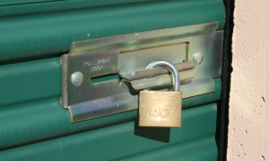 Storage Locker Lock