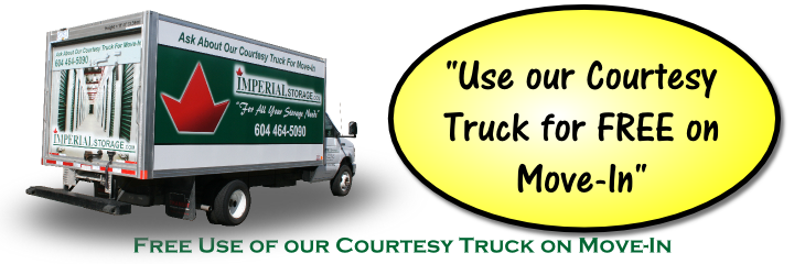 Courtesy Storage Truck - Coquitlam