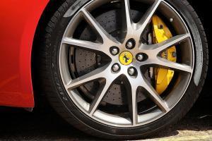 Ferrari Tire and Rim