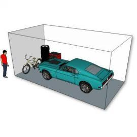 10x20 Self storage locker for car storage by Imperial Self Storage in Port Coquitlam