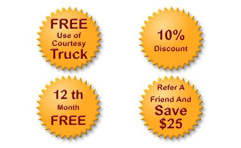 Self storage sales and promotions offered by Imperial Self Storage in Port Coquitlam