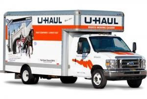U-Haul truck for rent in Port Coquitlam by Imperial Self Storage
